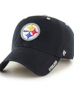 Pittsburgh Steelers Ice Black 47 Brand Adjustable Hat