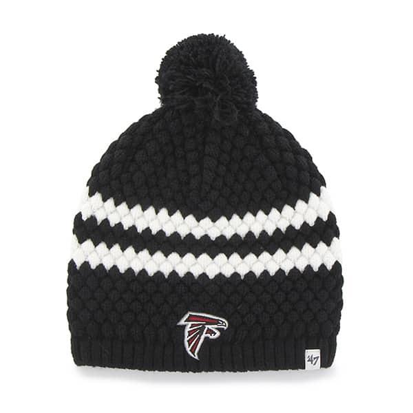 Atlanta Falcons Kendall Beanie Black 47 Brand Womens Hat