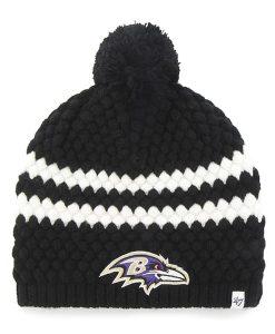Baltimore Ravens Kendall Beanie Black 47 Brand Womens Hat