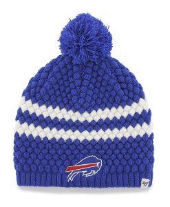 Buffalo Bills Kendall Beanie Sonic Blue 47 Brand Womens Hat