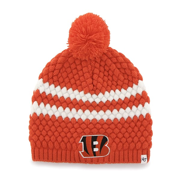 Cincinnati Bengals Kendall Beanie Orange 47 Brand Womens Hat