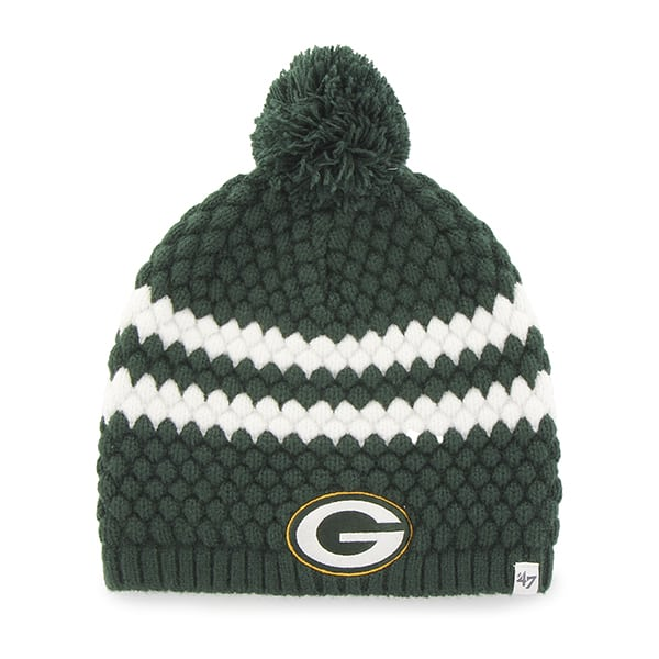 Green Bay Packers Kendall Beanie Dark Green 47 Brand Womens Hat