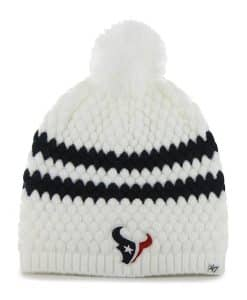 Houston Texans Kendall Beanie White 47 Brand Womens Hat