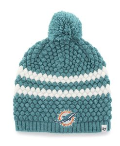 Miami Dolphins Kendall Beanie Neptune 47 Brand Womens Hat
