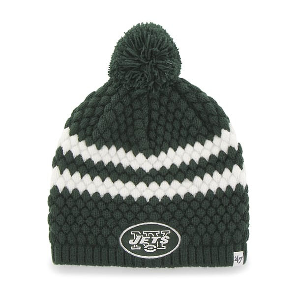 New York Jets Kendall Beanie Dark Green 47 Brand Womens Hat