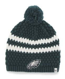 Philadelphia Eagles Kendall Beanie Pacific Green 47 Brand Womens Hat