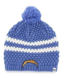 San Diego Chargers Kendall Beanie Blue Raz 47 Brand Womens Hat