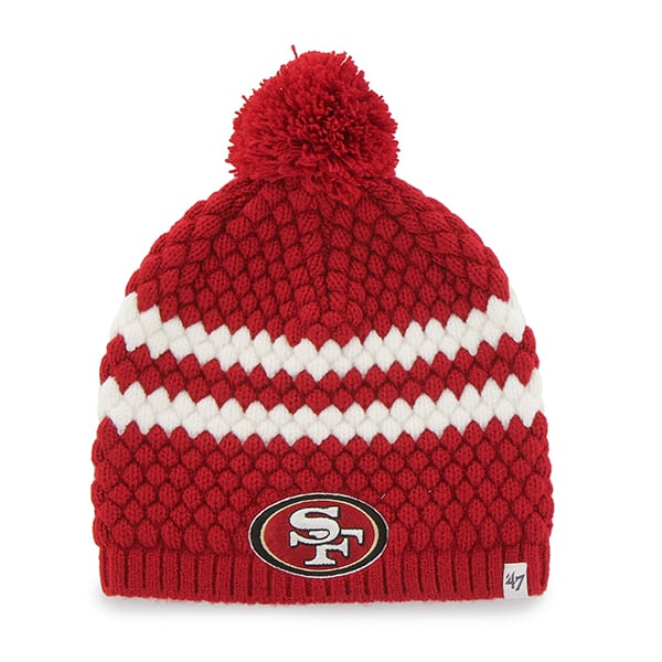 San Francisco 49ers Kendall Beanie Red 47 Brand Womens Hat