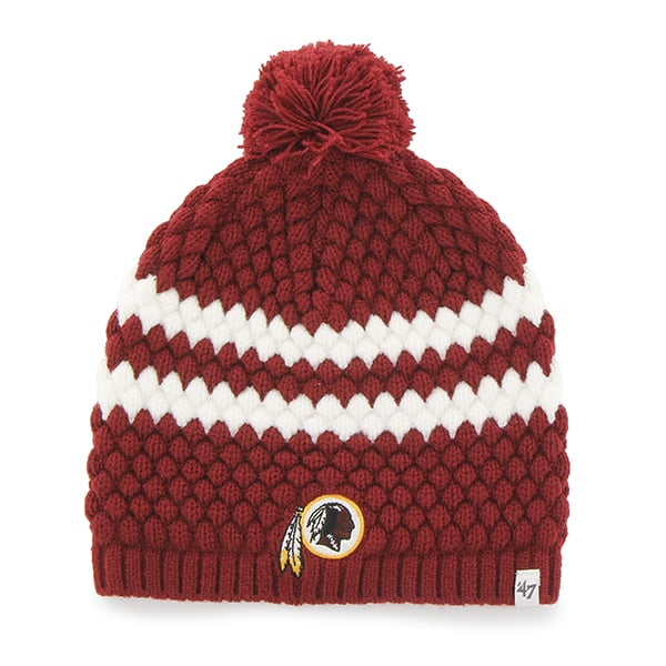 Washington Redskins Kendall Beanie Razor Red 47 Brand Womens Hat
