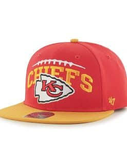 Kansas City Chiefs Laces Out Captain Torch Red 47 Brand KID Hat