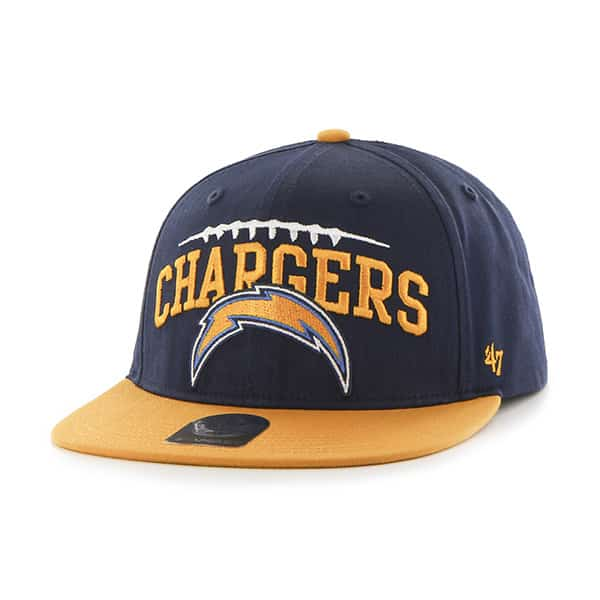 San Diego Chargers Laces Out Captain Light Navy 47 Brand KID Hat