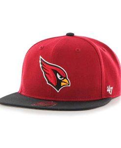 Arizona Cardinals Lil Shot Two Tone Captain Dark Red 47 Brand KID Hat