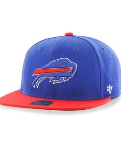 Buffalo Bills Lil Shot Two Tone Captain Sonic Blue 47 Brand YOUTH Hat