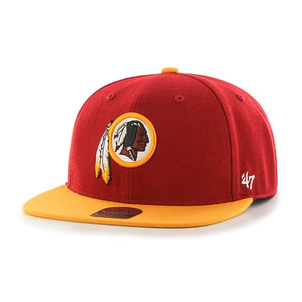 Washington Redskins Lil Shot Two Tone Captain Razor Red 47 Brand YOUTH Hat