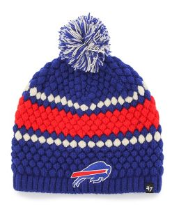 Buffalo Bills Leslie Beanie Royal 47 Brand Womens Hat