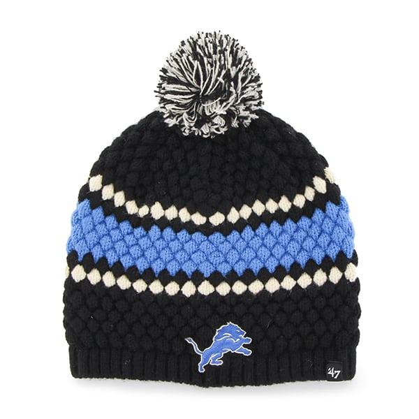 Detroit Lions Leslie Beanie Black 47 Brand Womens Hat
