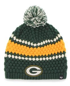 Green Bay Packers Leslie Beanie Dark Green 47 Brand Womens Hat