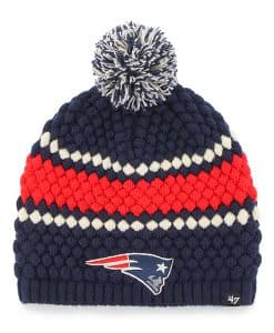 New England Patriots Leslie Beanie Light Navy 47 Brand Womens Hat