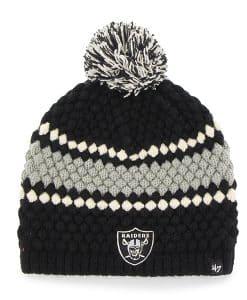 Oakland Raiders Leslie Beanie Black 47 Brand Womens Hat