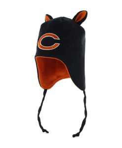 Chicago Bears INFANT 47 Brand Navy Little Monster Knit Hat