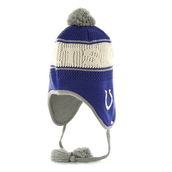Indianapolis Colts Malory Knit Royal 47 Brand Womens Hat