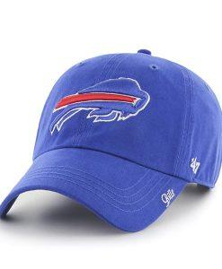 Buffalo Bills Miata Clean Up Sonic Blue 47 Brand Womens Hat