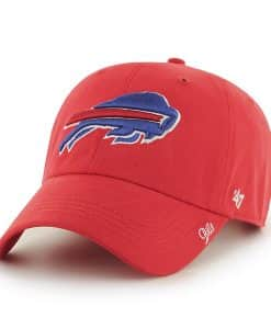 Buffalo Bills Miata Clean Up Torch Red 47 Brand Womens Hat