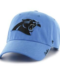 Carolina Panthers Miata Clean Up Glacier Blue 47 Brand Womens Hat