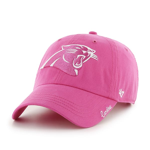 Carolina Panthers Women's 47 Brand Pink Clean Up Hat