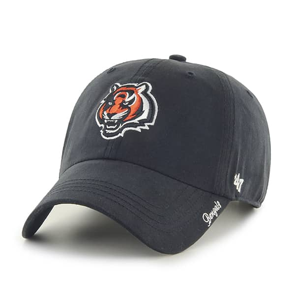 Cincinnati Bengals Miata Clean Up Black 47 Brand Womens Hat