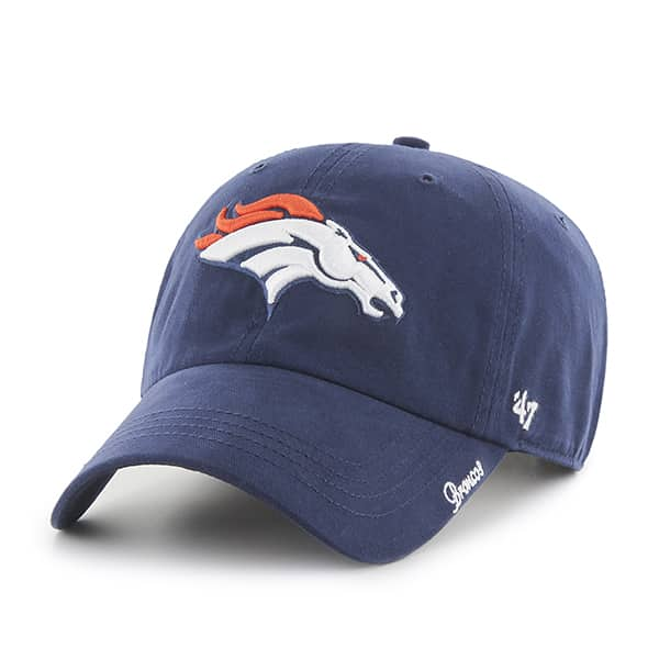 Denver Broncos Miata Clean Up Light Navy 47 Brand Womens Hat