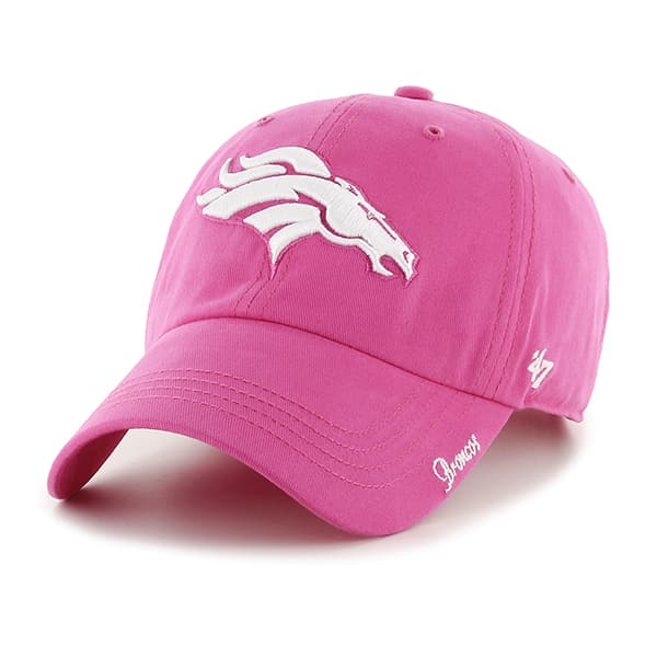 Denver Broncos Miata Clean Up Pink 47 Brand Womens Hat