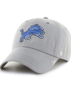 Detroit Lions Miata Clean Up Gray 47 Brand Womens Hat