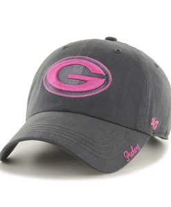 Green Bay Packers Miata Clean Up Charcoal 47 Brand Womens Hat
