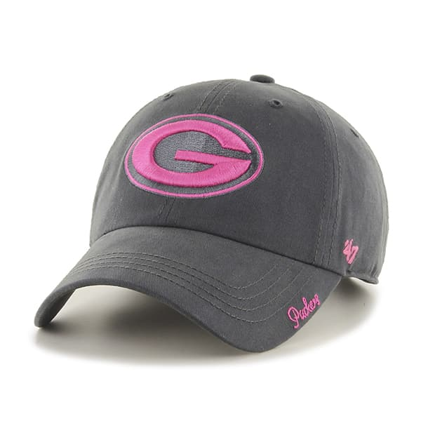 2e5d1af78d6 Green Bay Packers Women s Miata Clean Up Pink Charcoal 47 Brand Hat ...