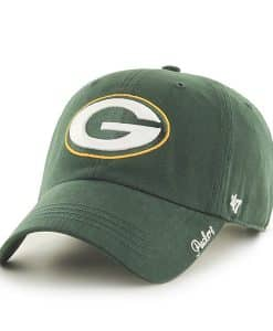Green Bay Packers Women's 47 Brand Miata Green Clean Up Hat