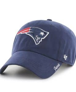 New England Patriots Miata Clean Up Light Navy 47 Brand Womens Hat