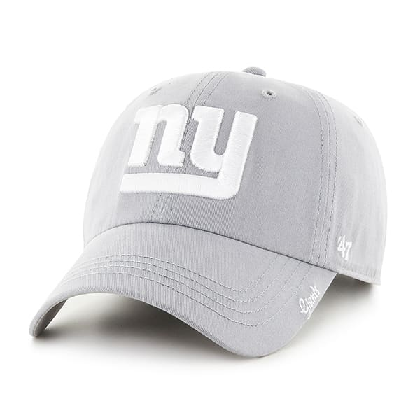 New York Giants Women's 47 Brand Miata Gray Clean Up Hat