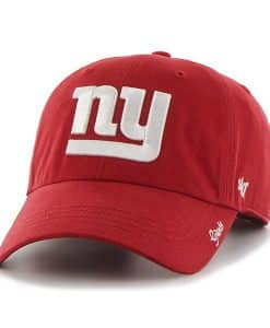 New York Giants Miata Clean Up Red 47 Brand Womens Hat