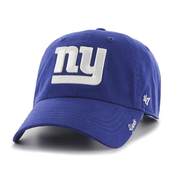 New York Giants Miata Clean Up Royal 47 Brand Womens Hat