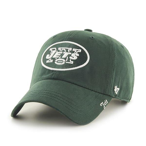 New York Jets Miata Clean Up Dark Green 47 Brand Womens Hat