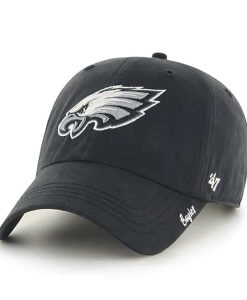Philadelphia Eagles Miata Clean Up Black 47 Brand Womens Hat