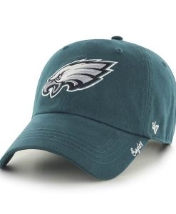 Philadelphia Eagles Miata Clean Up Pacific Green 47 Brand Womens Hat
