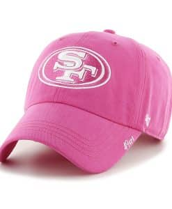 San Francisco 49ers Women's 47 Brand Pink Clean Up Hat