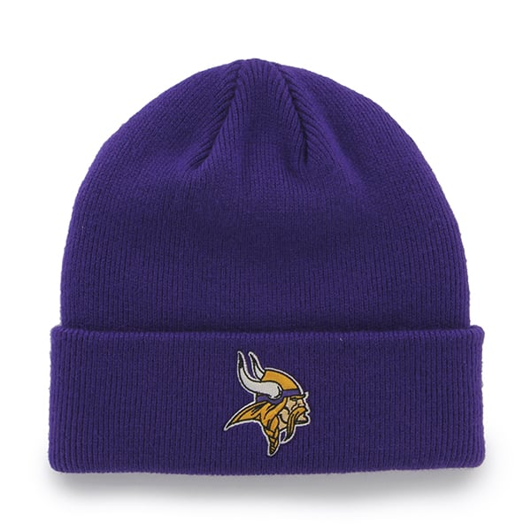 Minnesota Vikings Mass Cuff Knit Purple 47 Brand KID Hat