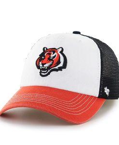 Cincinnati Bengals Mckinley Closer Black 47 Brand Stretch Fit Hat