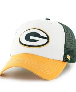Green Bay Packers Mckinley Closer Dark Green 47 Brand Stretch Fit Hat