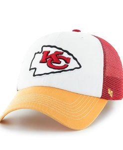 Kansas City Chiefs Mckinley Closer Red 47 Brand Stretch Fit Hat