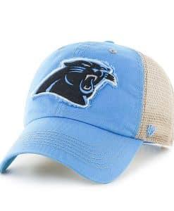 Carolina Panthers Montana Glacier Blue 47 Brand Adjustable Hat