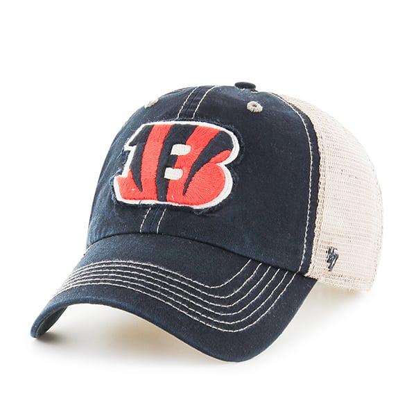 Cincinnati Bengals Montana Black 47 Brand Adjustable Hat